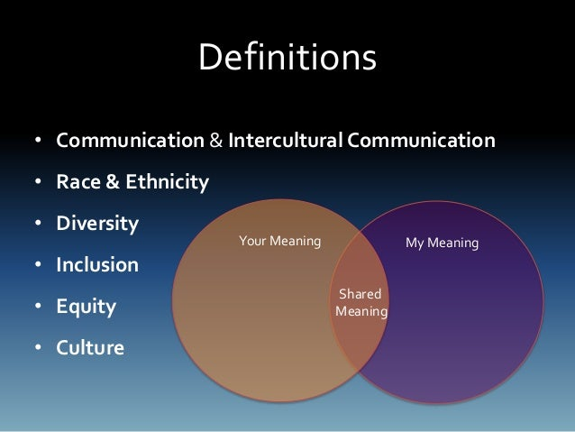 Diversity Meaning Workplace >> Intercultural Communications in the Workplace