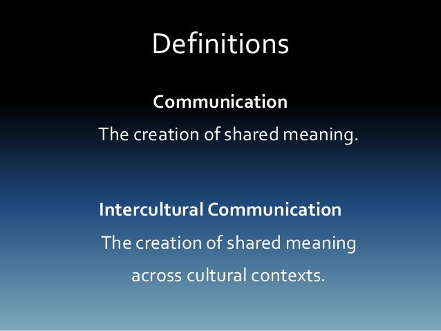 intercultural communication in the workplace The strength of cross-cultural teams is their diversity of experience, perspective, and insight but to capture those riches, colleagues must commit to open communication they must dare to share.