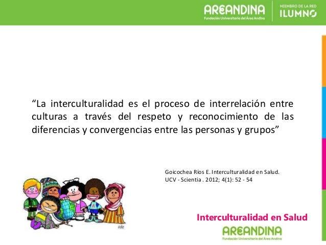 Interculturalidad en Salud Slide 2