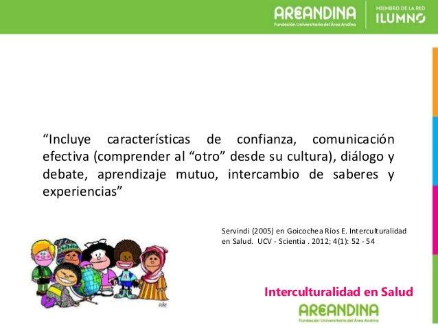 Interculturalidad en Salud Slide 3
