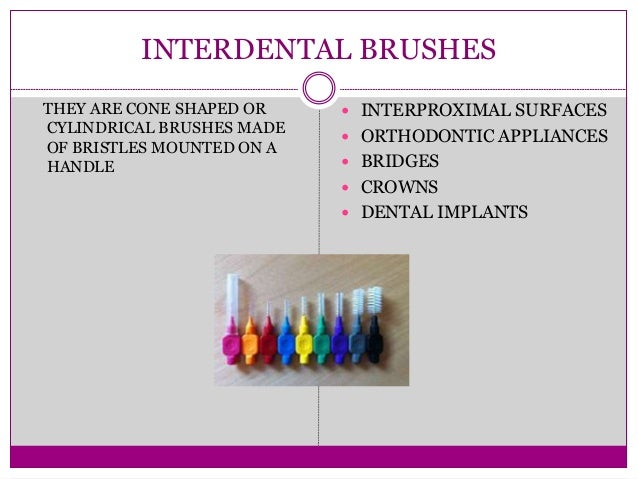 Interdental Cleaning Aids