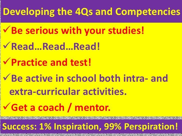 Success 1 inspiration 99 perspiration essays