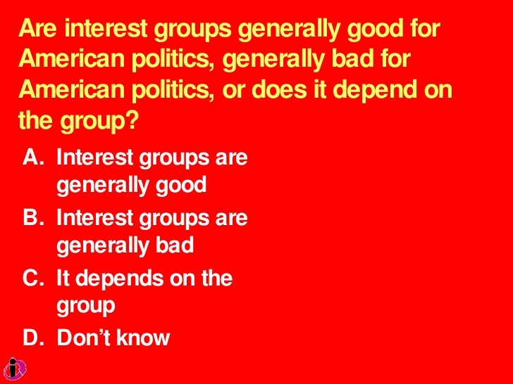 Interest Groups Essay