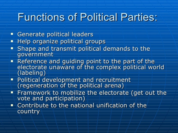 political parties and instability in oyo As otite (1990) observed and quite rightly too, the ethnic virus has been one of the most important causes of social crisis and political instability in nigeria and ethnicity has been perceived in general as a major obstacle to the overall political and economic development of the country.