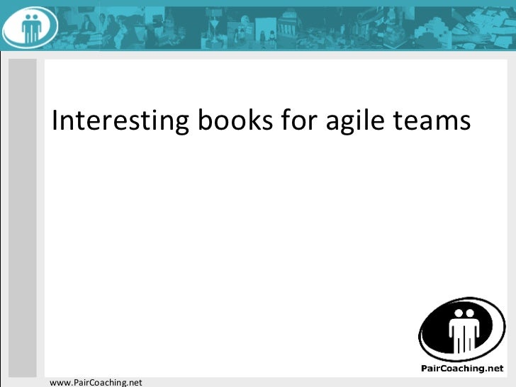 Interesting books for agile teams