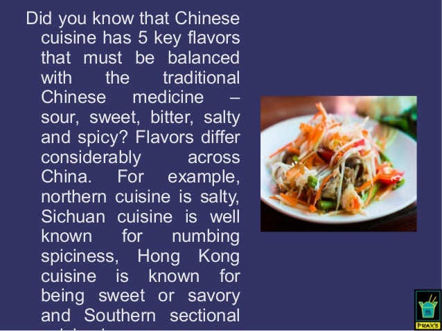 Interesting facts about chinese cuisine for Asian cuisine information