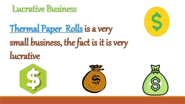 Interesting facts about thermal papers