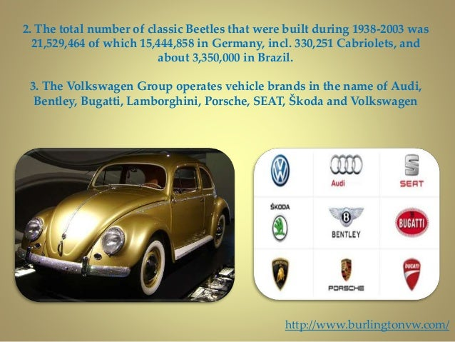 Interesting facts about volkswagen