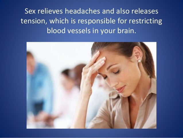 Does sex relieve tension headaches