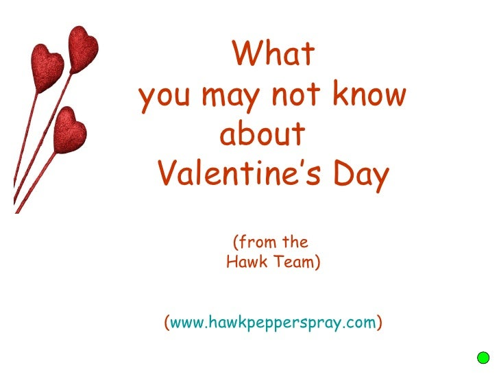 what you may not know about valentines day from the hawk team www - Valentine Stories