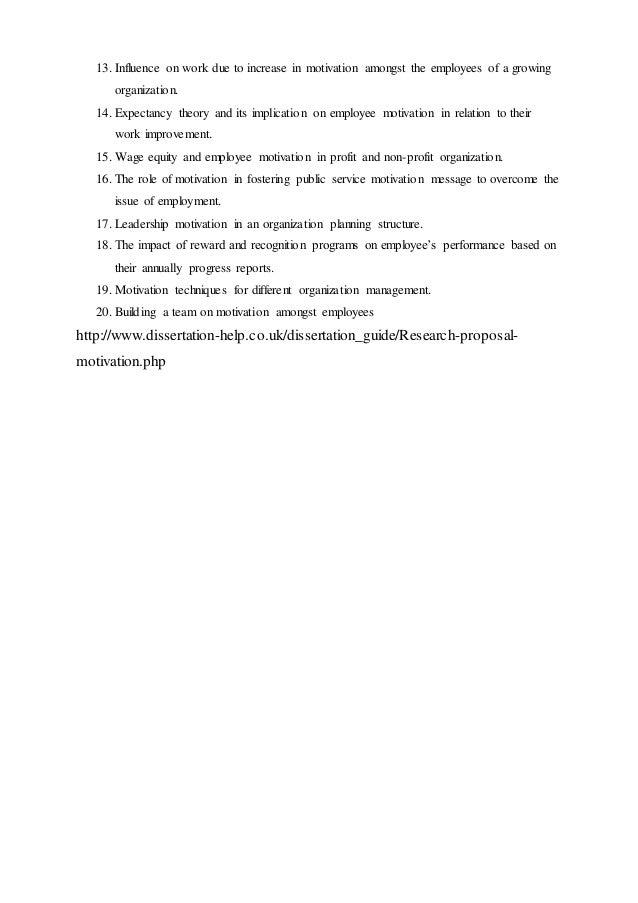 dissertation proposal service on employee motivation  dissertation democratie directe democratie semi directe