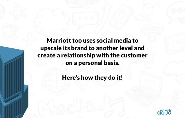 Interesting ways in which Marriott leverages social data