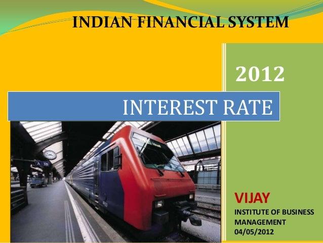 Interest rate Slide 2