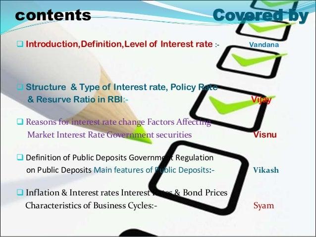 Interest rate Slide 3