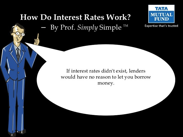 How Do Interest Rates Work?    – By Prof. Simply Simple         TM           If interest rates didnt exist, lenders       ...