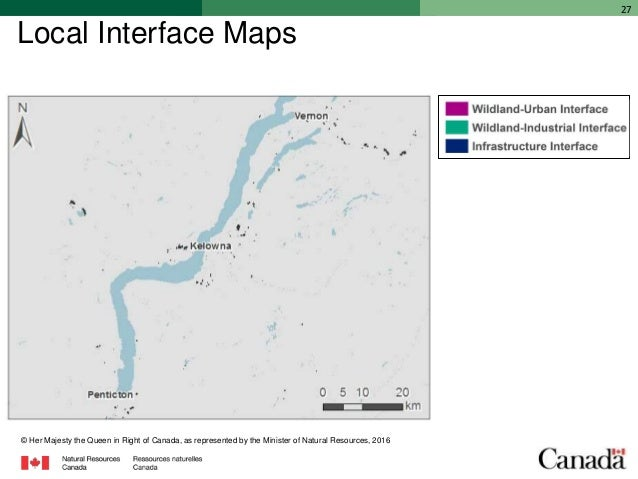 Iclr Friday Forum Wildfire Interface Mapping For Canada February 17