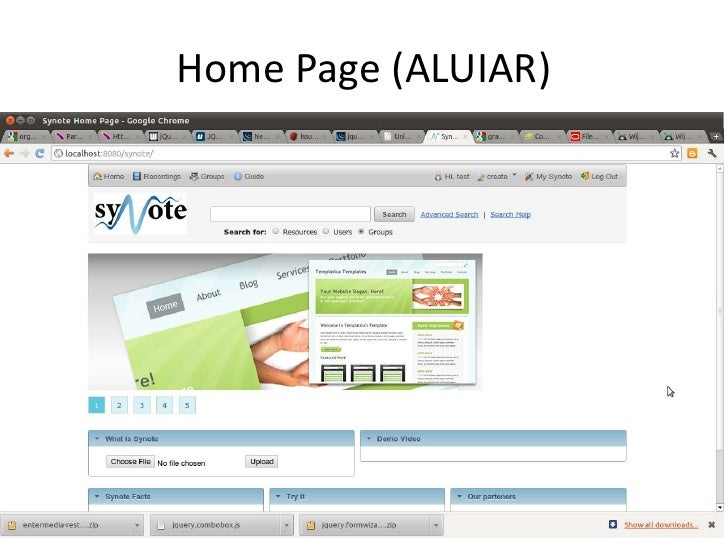 Home Page (ALUIAR)<br />