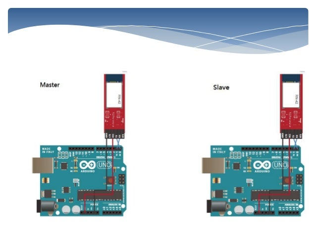 Interfacing two arduino boards using rn 42 bluetooth