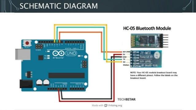 Interfacing Bluetooth With Arduinorhslideshare: Arduino Bluetooth Module Schematic At Gmaili.net