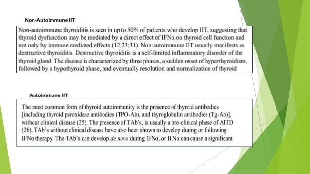Evolución  Algunos autores recomiendan suspensión tratamiento (s/t si es EGB) otros sugieren continuar y tratar alteració...