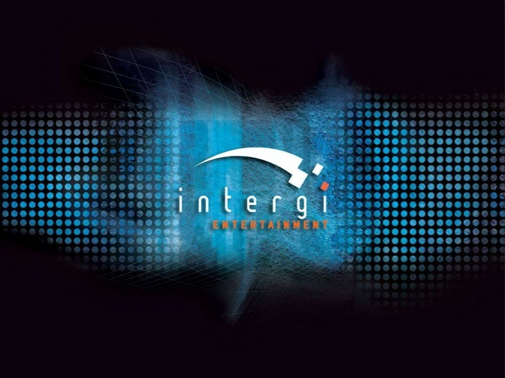 Who Are We?Intergi Entertainment is the world's largest advertisement network forvideo games & visual entertainment. Found...