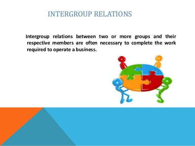 intergroup conflict Intergroup conflict causes changes to occur, both within the groups in conflict and between them within the groups, members will usually overlook individual differences in an effort to unite against the other side, and with this concerted effort the focus is on the task.