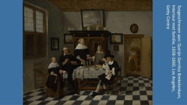 Interieurs in de kunst iv - Nederland 1600-1700