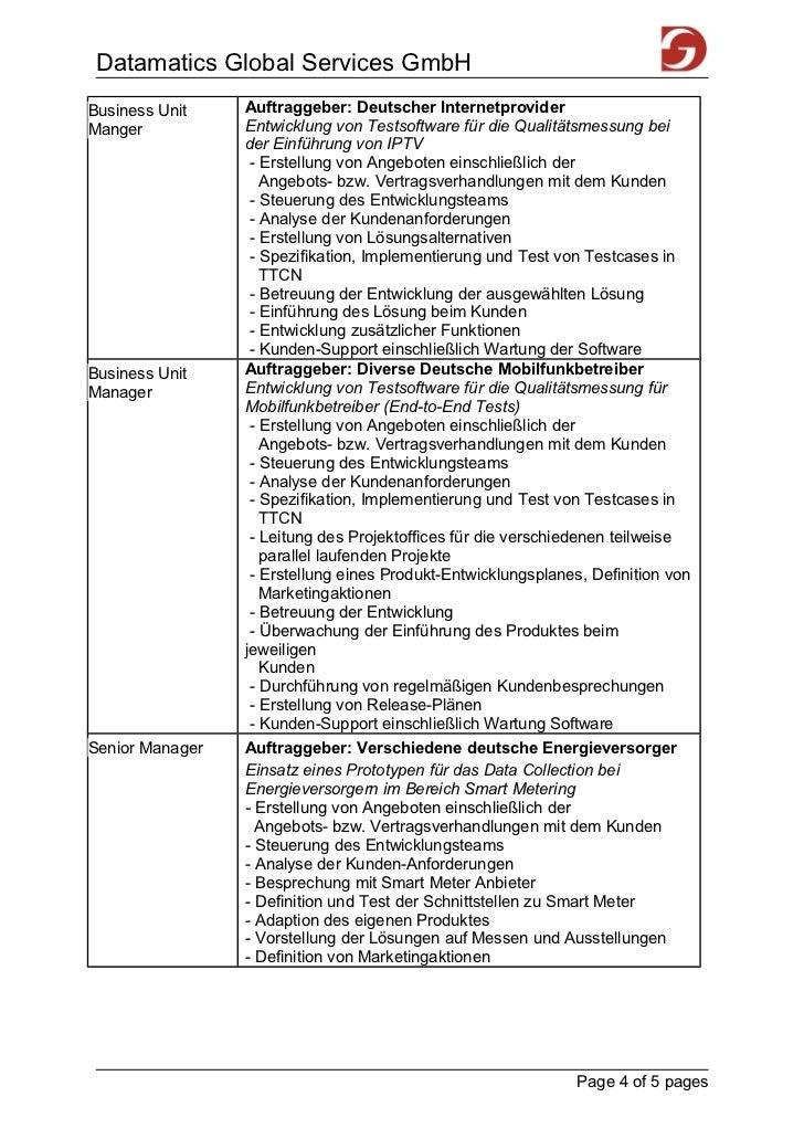 Datamatics Global Services GmbHBusiness Unit    Auftraggeber: Deutscher InternetproviderManger           Entwicklung von T...