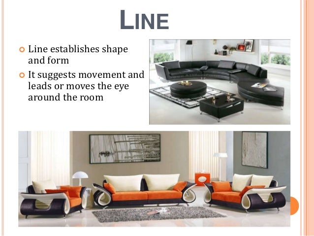 3 line line establishes shape - Shape In Interior Design