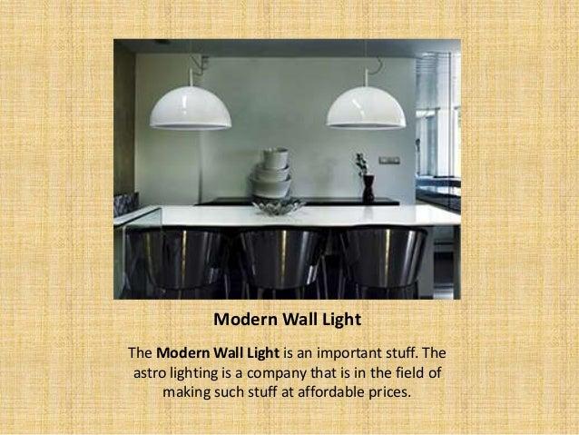 types of interior lighting. 3. Modern Wall Light Types Of Interior Lighting