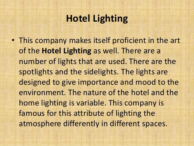 know about interior lighting and its types rh slideshare net