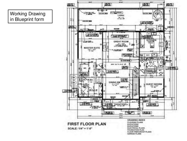 Interior Architecture Drawings Pptx