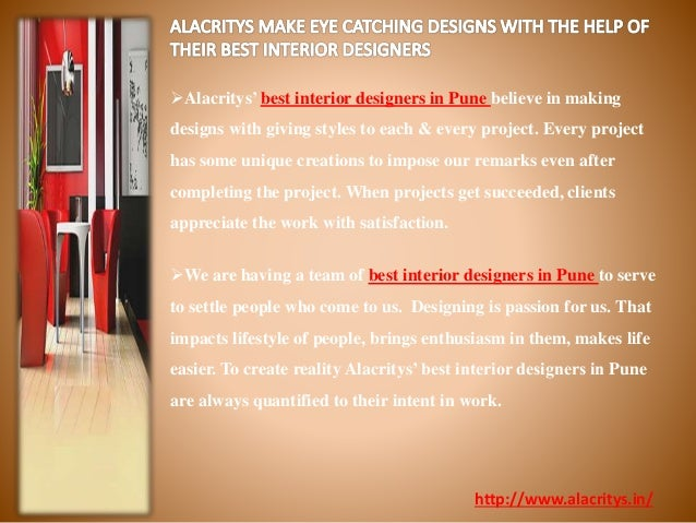 Interior designers in pune will make best use of your space