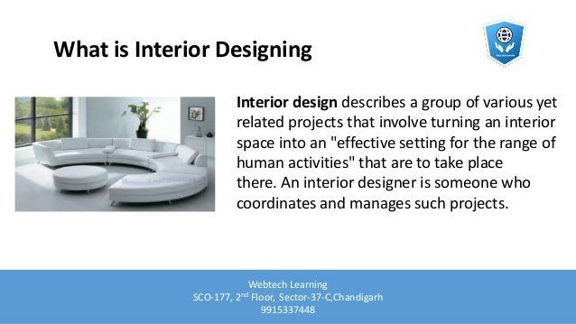 Interior designing course in chandigarh
