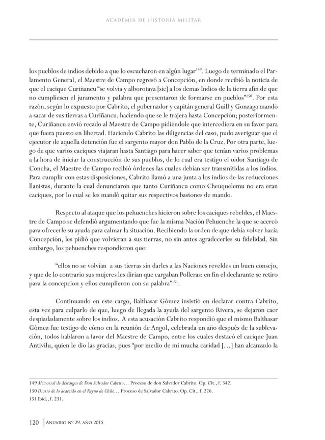 Anuario Nº 29, Año 2015