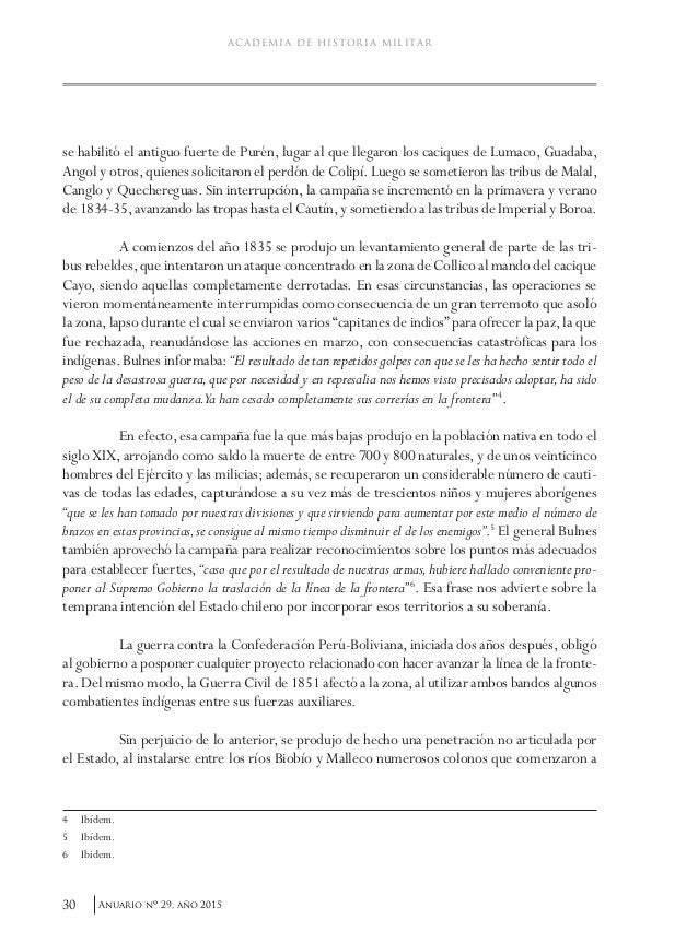33Anuario nO 29, año 2015 Cornelio Saavedra y su gestión militar fronteriza. 1859-1870 indios mandados por los caciques Ca...