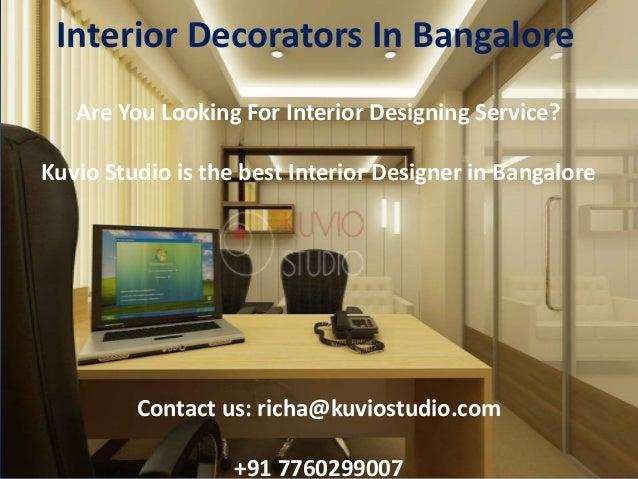 best interior decorators in bangalore kuvio studio