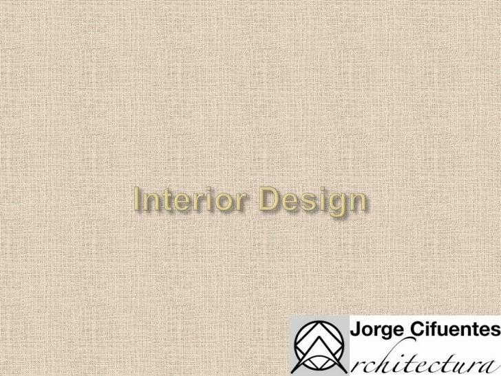 Interior Design<br />
