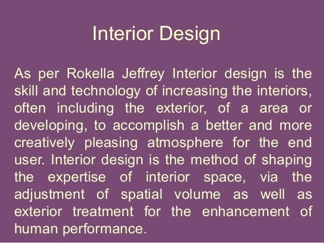 Interior Design Basic Information Rokella Jeffrey