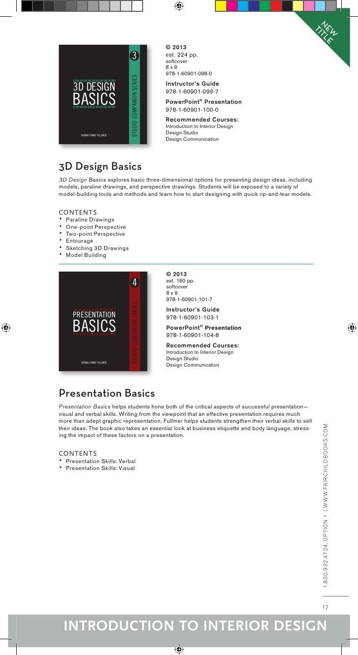Recommended Courses Internship In Interior Design Pre Seminar Professional PracticeThe InternLINDA L NUSSBAUMER Professor