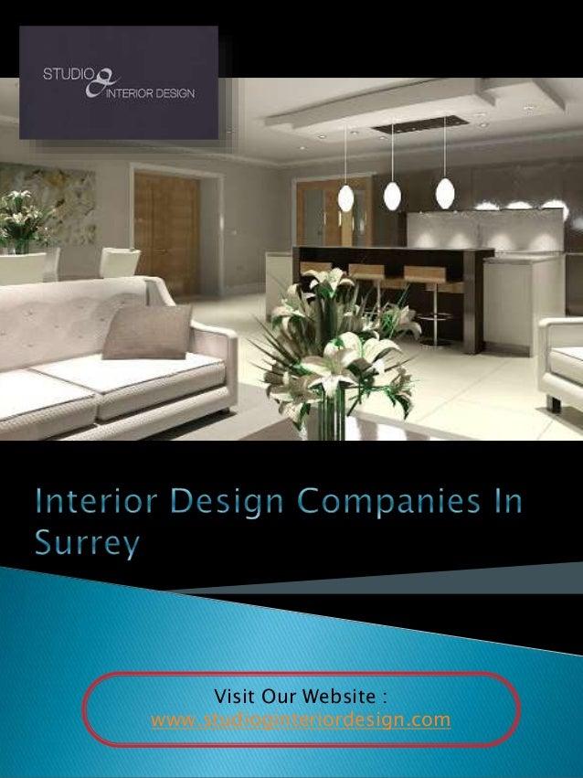 Surrey interior designers for Interior design surrey