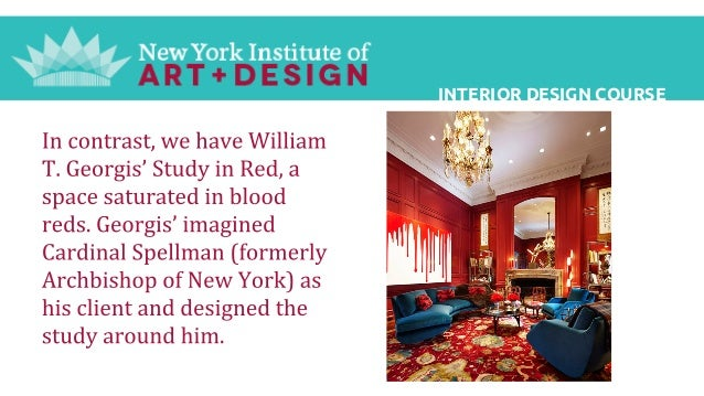Interior design course new york institute of art and design for The institute of interior design