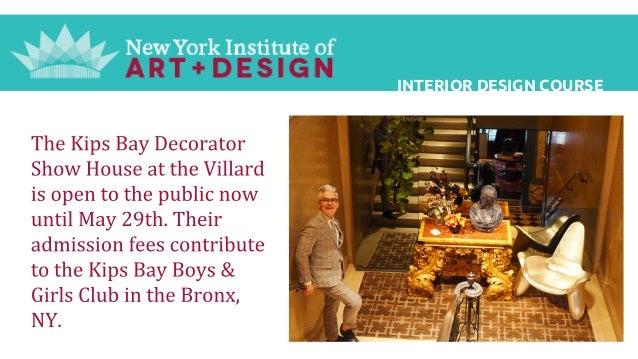 Interior design course new york institute of art and design for Interior design courses nyc