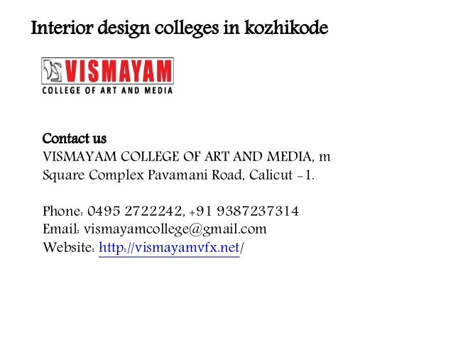 interior design course calicut