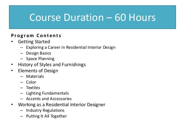 Interior Design Has Evolved Throughout History 3 Course