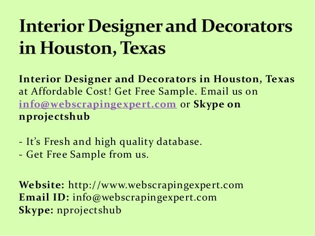 interior designer and decorators in houston texas