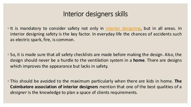 Interior Designers ...
