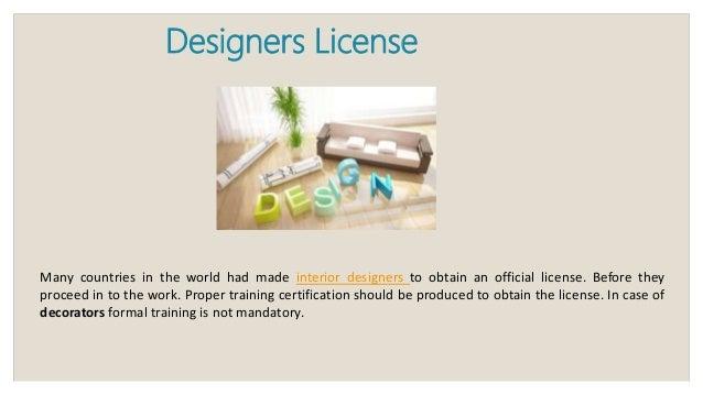 Attractive Designers License ... Amazing Design