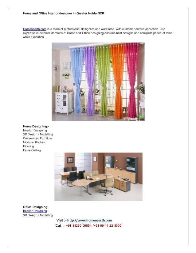 Interior Designer In Greater Noida