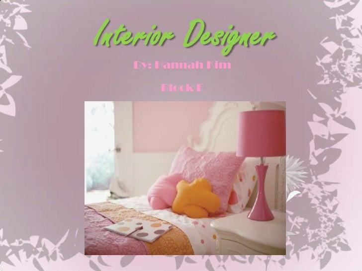Interior Designer Powerpoint